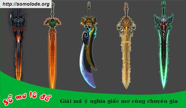 Nằm mơ thấy gươm kiếm